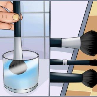 Как мыть кисти