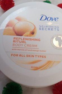 Особенности крема для тела Dove