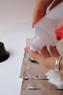 Технология снятия гель-лака «Фокс»