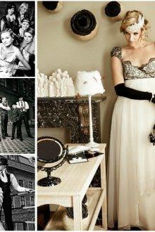 Концепция свадьбы в гангстерском стиле