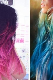 Покраска волос тоником