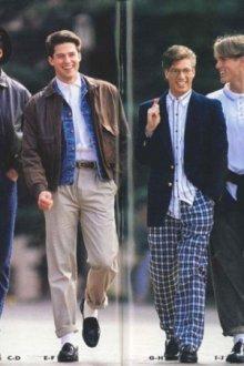 Как одевались парни