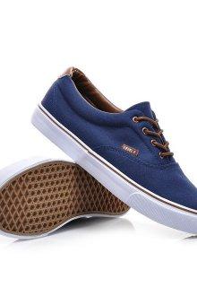 Мужские синие джинсовые туфли