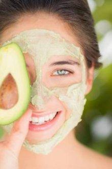 Увлажняющая маска для лица с маслом авокадо