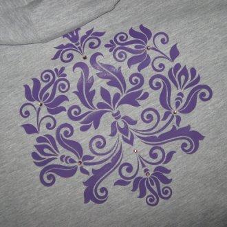 Особенности нанесения рисунка на одежду