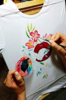 Акриловые краски для росписи на ткани