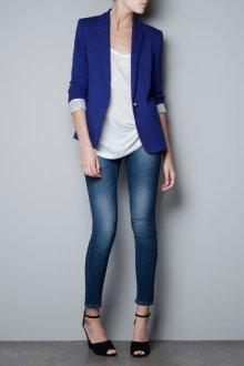 Особенности синих пиджаков