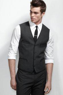 Стильная мужская классическая жилетка и брюки