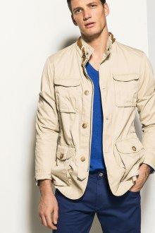 Мужская куртка в стиле сафари