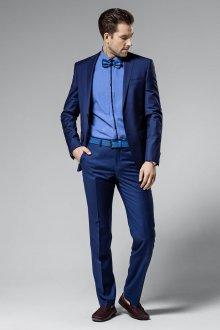 Модный синий мужской летний костюм