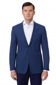 Модный клетчатый мужской льняной летний костюм