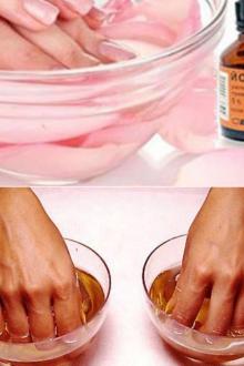 Ванночки для ногтей с йодом