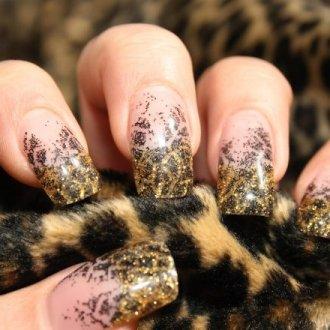 Когда уместен леопардовый принт на ногтях