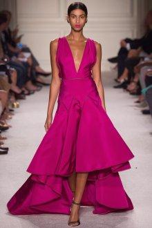 Розовое оригинальное платье в стиле нью лук