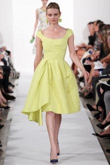 Лимонное платье в стиле нью лук