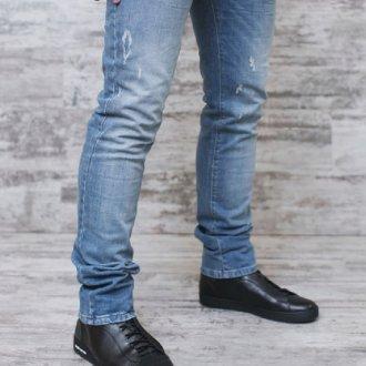 Мужские ботинки под джинсы
