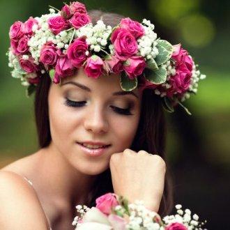 Из натуральных цветков