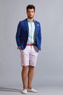 Мужской образ с шортами в стиле smart casual