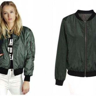 Женские короткие куртки-бомберы