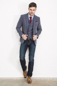 Модный деловой наряд в стиле casual