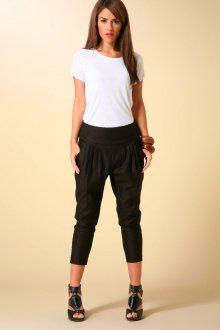 Модные черные спортивные брюки