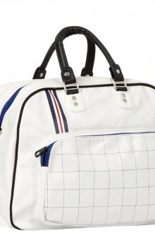 Белая спортивная женская сумка