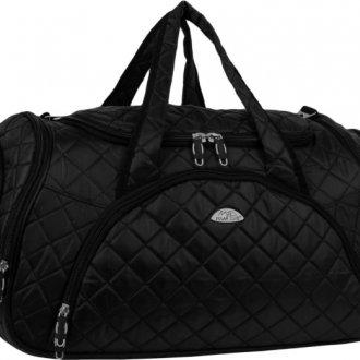 Черная спортивная сумка