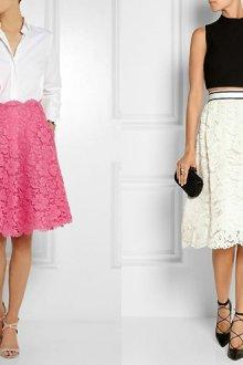 Какие преимущества имеет юбка из гипюра