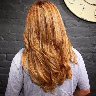 Стрижка «лисий хвост» на волосы средней длины