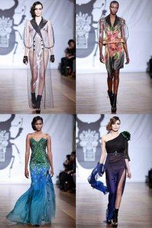 Женские наряды в экстравагантном стиле