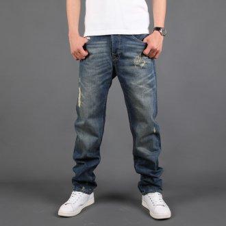 Стильные спортивные мужские джинсы