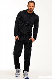 Черный мужской спортивный костюм
