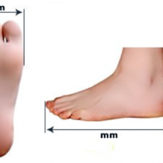 Соответствие размеров обуви