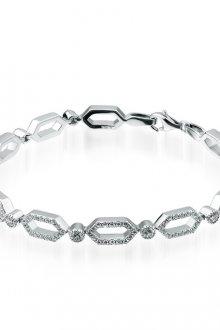 Серебряные женские браслеты