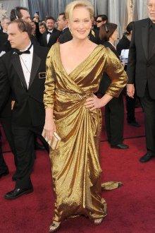 Вечернее золотистое платье для женщины 50 лет