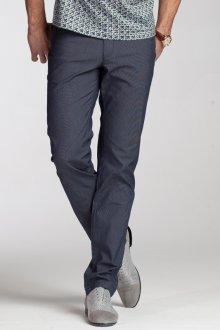Темно-синие мужские штаны слаксы
