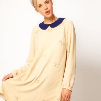 Ежедневное платье в стиле винтаж
