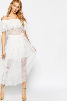 Свадебное полупрозрачное винтажное платье