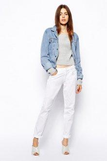 Белые женские брюки чинос