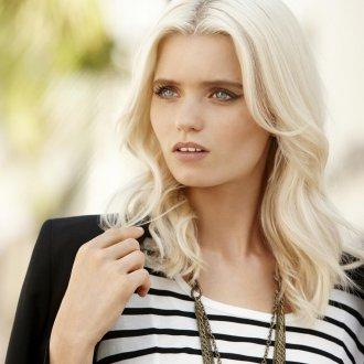Волосы светлый блонд