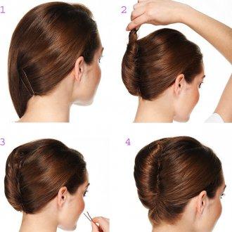 Как сделать ракушку из волос в домашних 596