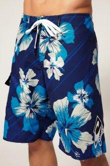 Сине-белые пляжные мужские шорты